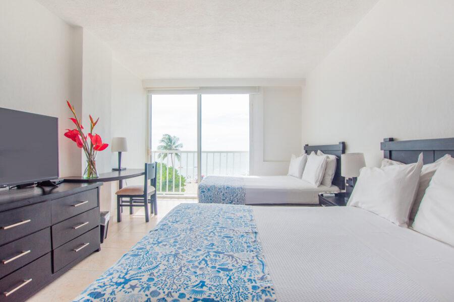 Habitación superior  2 camas